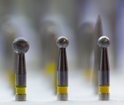 drill bits used on dental drill when practicing general dentistry